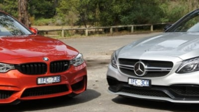 BMW M4 Competition v Mercedes-AMG C63 S Coupe comparison review