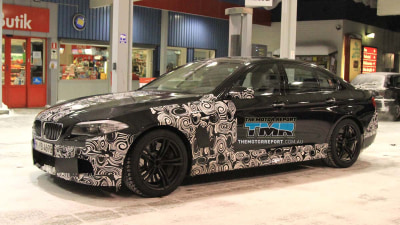 2011 BMW M5 Revealed Further In Third Teaser Video
