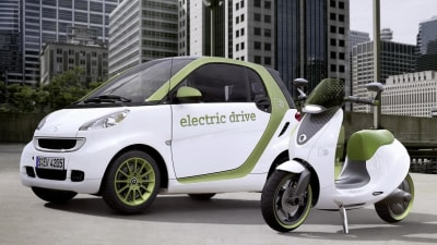 Smart escooter Concept Confirmed For Production