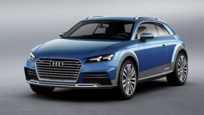 2014 Audi TT Previewed With Allroad Shooting Brake Concept In Detroit