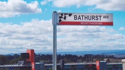 Bathurst: New Street Names For Mount Panorama