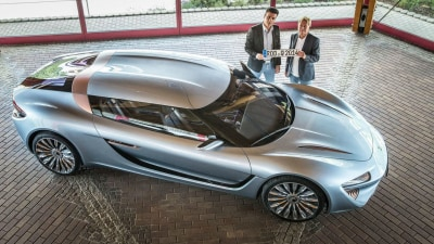Quant e-Sportlimousine Approved For Use On Public Roads