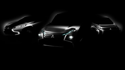 Mitsubishi Teases Bold New Styling Language Ahead Of Tokyo Motor Show