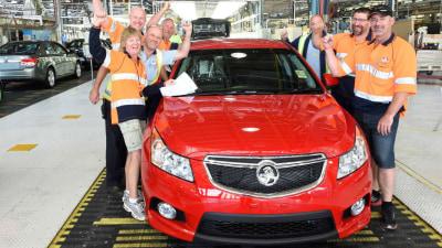 Holden Celebrates 100,000th Cruze At Elizabeth Plant