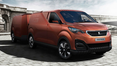 Peugeot Foodtruck Concept Previews Future Food On Wheels