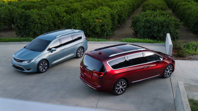 2017 Chrysler Pacifica Plug-In People Mover Debuts At Detroit