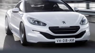2013 Peugeot RCZ Surfaces Online