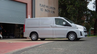 2021 Toyota HiAce LWB diesel automatic review