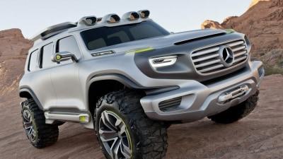 Mercedes-Benz Previews Future G-Class