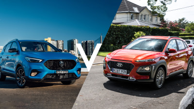 Compare MG ZST Essence vs Hyundai Kona Elite