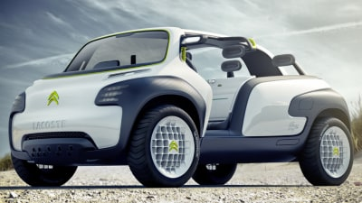 Citroen And Lacoste Team Up For New Concept