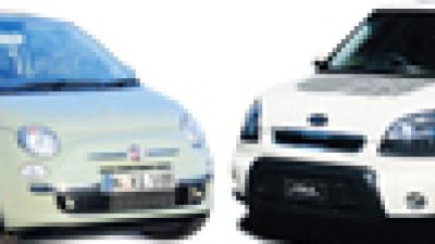 Head to Head: Fiat 500 Lounge Diesel v Kia Soul 3 Diesel
