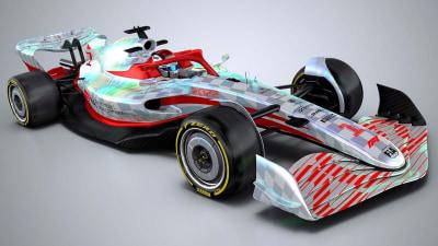 2022 Formula One car revealed