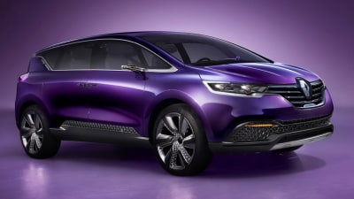 Renault Oz Sees Little Espace For New People-Mover