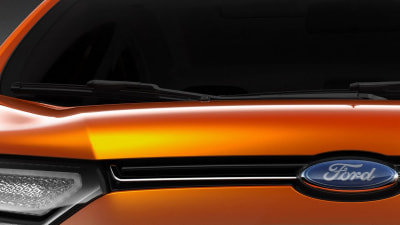 Ford To Preview EcoSport Compact SUV In New Delhi