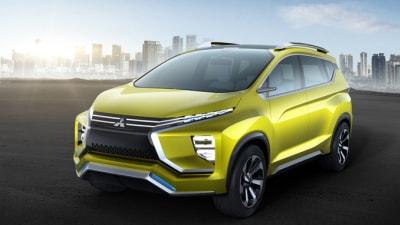 Mitsubishi Shows XM Crossover MPV Concept In Indonesia