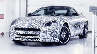 Jaguar F-Type Confirmed For Paris