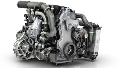 Renault Reveals New F1-Inspired 1.6 Litre Twin Turbo Diesel Engine