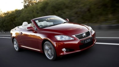 2010 Lexus IS 250C Released In Australia