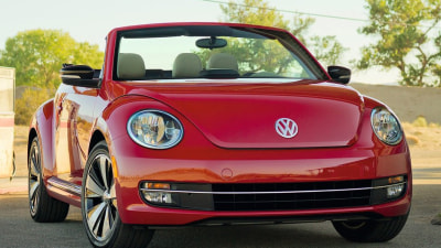 2013 VW Beetle Convertible Revealed