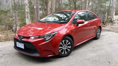 Everyday driving: 2020 Toyota Corolla Ascent Sport hybrid sedan