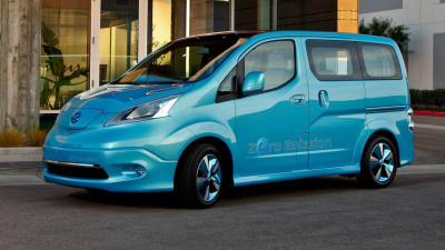 Nissan e-NV200 Revealed At Detroit