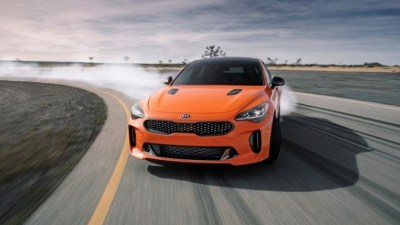 Kia Wheels Out Stinger GTS In New York