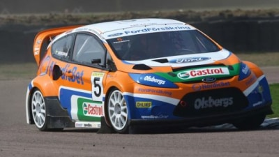 2009 Ford Fiesta Makes Rallycross Debut