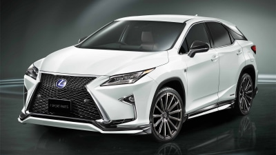 Lexus RX 'F Sport Parts' Upgrades Revealed Overseas