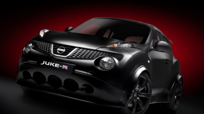 Nissan Juke-R Gives Up Its Numbers