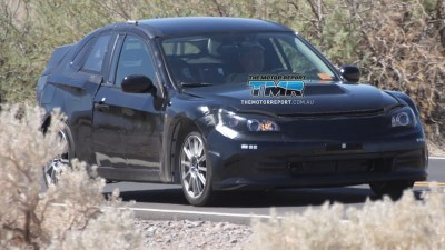 Subaru Entry-Level Coupe Spied Hot-Weather Testing