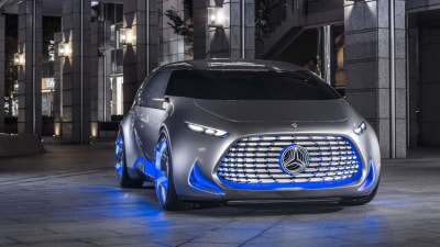 "Mercedes-Benz Vision Tokyo Concept Brings ""Spatial Experience"" To Tokyo Motor Show"