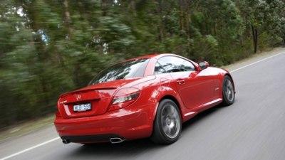 2008 Mercedes Benz SLK Update