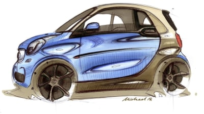 2015 ForTwo, ForFour: New Smart Cars Teased Ahead Of Paris