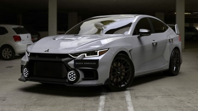 Mitsubishi eyes rally return, but Lancer Evolution replacement must wait for electric tech