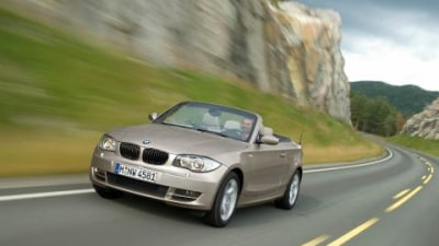BMW One Series Convertible official release