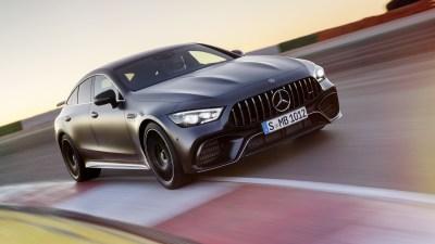 Mercedes-AMG GT 4-door Coupe makes Geneva debut