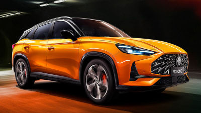 2021 MG One officially unveiled: Chinese mid-size SUV goes premium