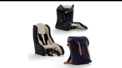 Volvo's Simply Brilliant Inflatable Child Seat Concept: Video