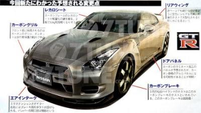 2009 Nissan R35 GT-R Spec-V Release Confirmed