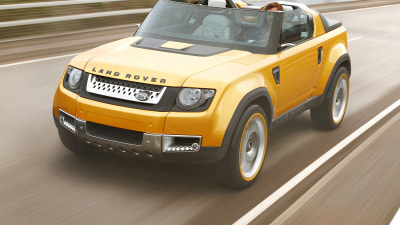 Land Rover Shows Second Defender Concept At Frankfurt