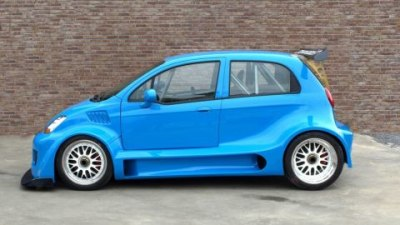 Not Your Average Grocery-Getter: 404kW V8 Chevy Matiz