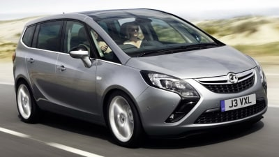Opel Zafira On Sale In Australia From Mid-2013: Official