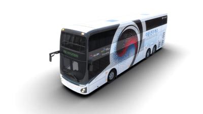 Hyundai reveals electric double-decker bus