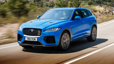2019 Jaguar F-Pace SVR Review