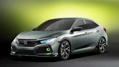 Honda Civic Hatch Prototype Hits Geneva, Previews Next Production Honda Five-Door