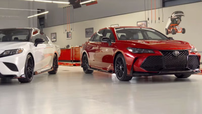 Toyota TRD Camry teased