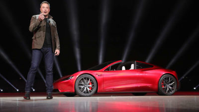 Tesla Roadster production delayed until 2022