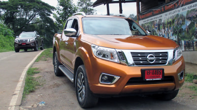 Nissan Navara NP300 D23 4X4 Review: With Elephants And Hounds In The Back-blocks Of Thailand