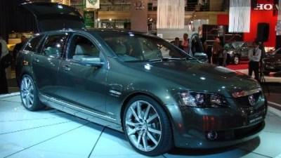 Holdens E85 Sportwagon concept stars in Sydney